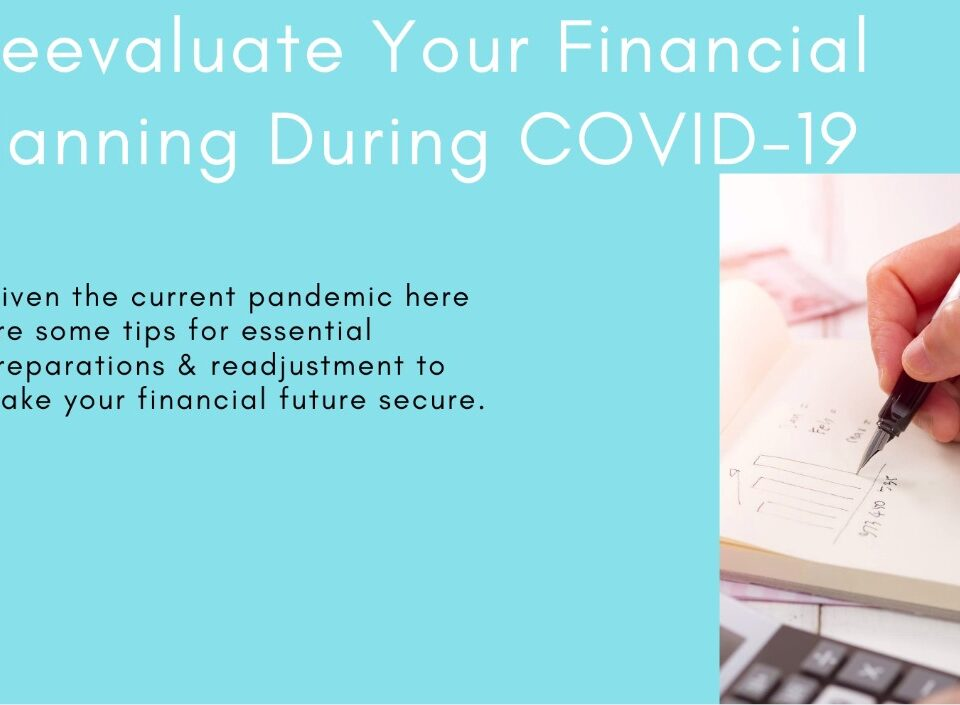 Financial Planning During COVID19