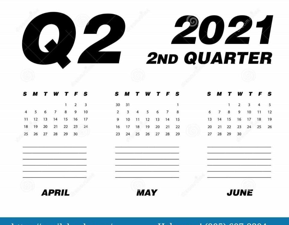 Second Quarter 2021